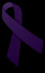 I wear purple for me.