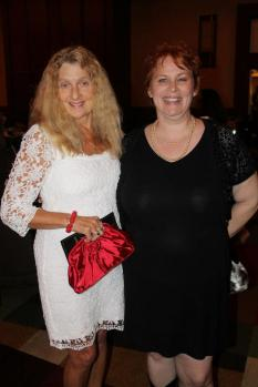 Amy and her agent Mary Sue Seymour