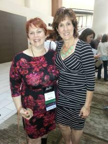 With Beth K. Vogt