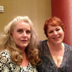 With Jen Turano--great author and fabulous roommate