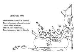 crowded tub