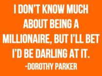 DP on millionaires