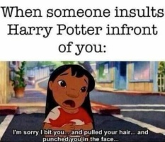 lilo and harry potter