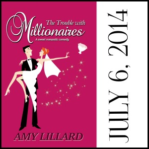 The Trouble with Millionaires Amy LIllard #AmyLillardBooks www.amylillardbooks